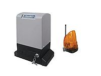 Doorhan Sliding 2100 автоматика для откатных ворот (вес створки до 2100 кг) Сигнальная лампа, Без зубчатой рейки, Без пульта