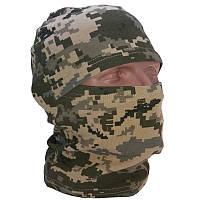 Балаклава маска летняя камуфляжная