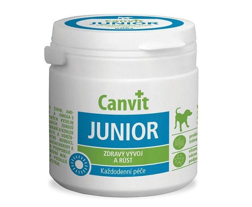 КАНВІТ ЮНИОР ДОГ Сanvit Junior for dogs кормова добавка для цуценят, 230 таб