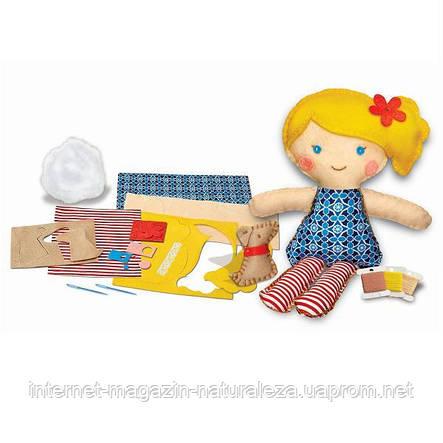 """Набір для творчості 4M Шиття """"Лялька з цуценям"""" (00-02767), фото 2"""