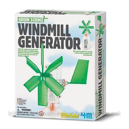 Набір для досліджень 4M Вітрогенератор (00-03267), фото 2