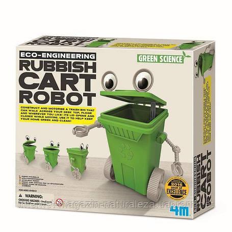 Набор для творчества 4M Робот-мусорный бак (00-03371), фото 2