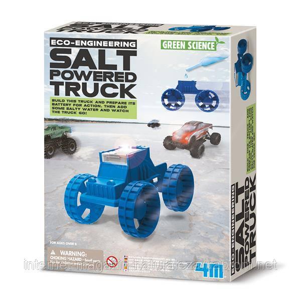 Набір для досліджень 4M Вантажівка енергії солі (00-03409)