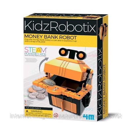 Науковий набір 4M Робот-скарбничка (00-03422), фото 2