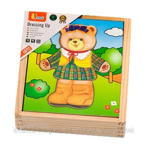 """Игровой набор Viga Toys """"Гардероб медведицы"""" (56403), фото 2"""