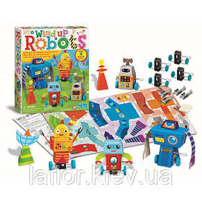 Набор для творчества 4M Заводные роботы (00-04655), фото 2