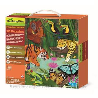 """3D-пазл 4M """"Тропический лес"""" (00-04678), фото 2"""
