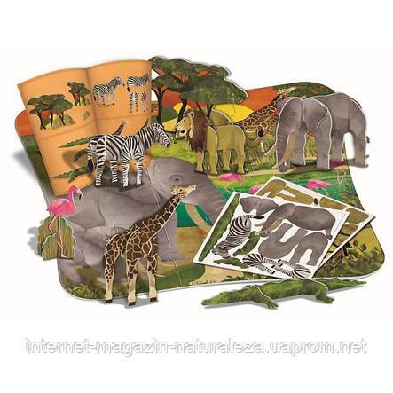 """3D-пазл 4M """"Африка"""" (00-04679), фото 2"""