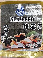 Листы водорослей для суши Нори Seaweed 100 листов