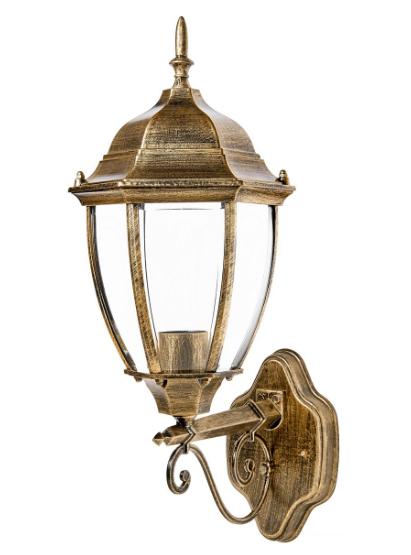 Садово-парковый светильник DeLux PALACE A008 черный золото