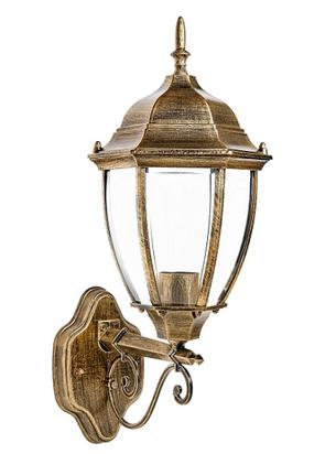 Садово-парковый светильник DeLux PALACE A008 черный золото, фото 2