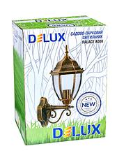 Садово-парковый светильник DeLux PALACE A008 черный золото, фото 3