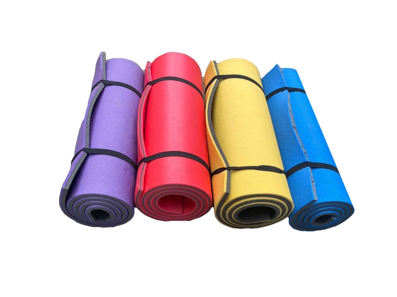 Каремат  двуслойный, двуцветный т. 10 мм, размер 60х180 см, производитель Украина, TERMOIZOL®