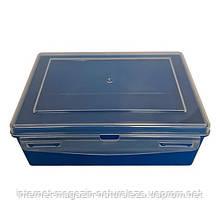 Контейнер пластиковий Gigo синій (1033B)