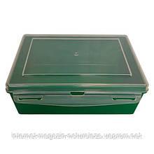 Контейнер пластиковий Gigo зелений (1033G)