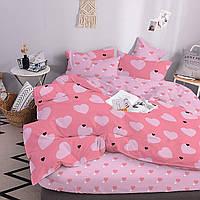 Комплект постельного белья ТЕП Evelina бязь 215-150 см розовый