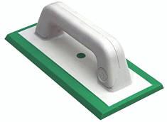 Шпатель затирочный из зеленой жесткой резины для затирки эпоксидной и цементной затирки.Размер: 11,5х25 см