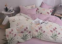 Комплект постільної білизни ТЕП Aurora бязь 215-150 см рожевий