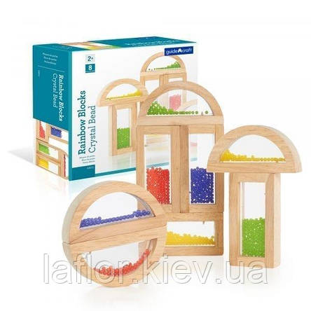 Набор стандартных блоков Guidecraft Block Play Бусины (G3012), фото 2