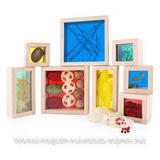 Набор блоков Guidecraft Natural Play Сокровища в ящиках, разноцветный (G3085), фото 3
