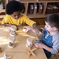 Набор Guidecraft Natural Play Сокровища в баночках, прозрачный (G3086), фото 3