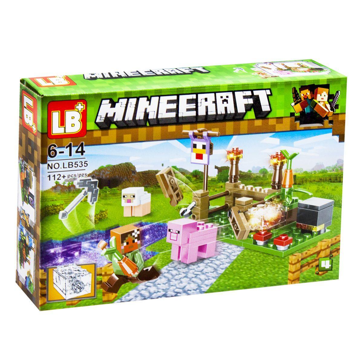 Конструктор Minecraft вид 4
