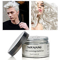 Окрашивающий воск для волос Mofajang Белый, фото 1