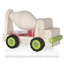 Іграшка Guidecraft Block Science Trucks Велика бетонозмішувач (G7530)