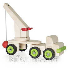 Іграшка Guidecraft Block Science Trucks Велика стенобитная машина (G7533)
