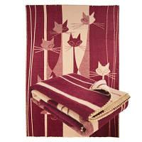 Полуторное одеяло из шерсти мериноса 140х205