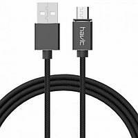 Кабель USB Micro магнитный Havit HV-H636 2A черный, фото 1