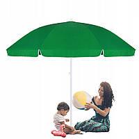 Пляжный (садовый) зонт усиленный с регулируемой высотой Springos 240 см BU0004, фото 1