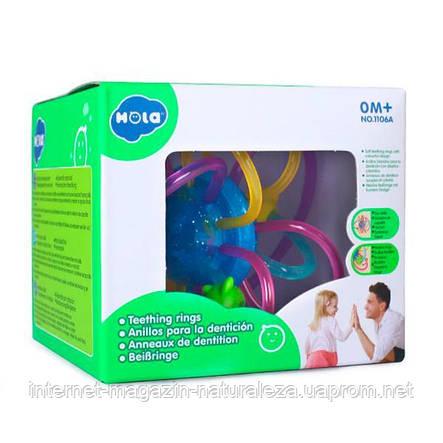 Погремушка-прорезыватель для зубов Hola Toys (1106A), фото 2