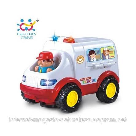 """Игрушка Huile Toys """"Скорая помощь"""" (836), фото 2"""