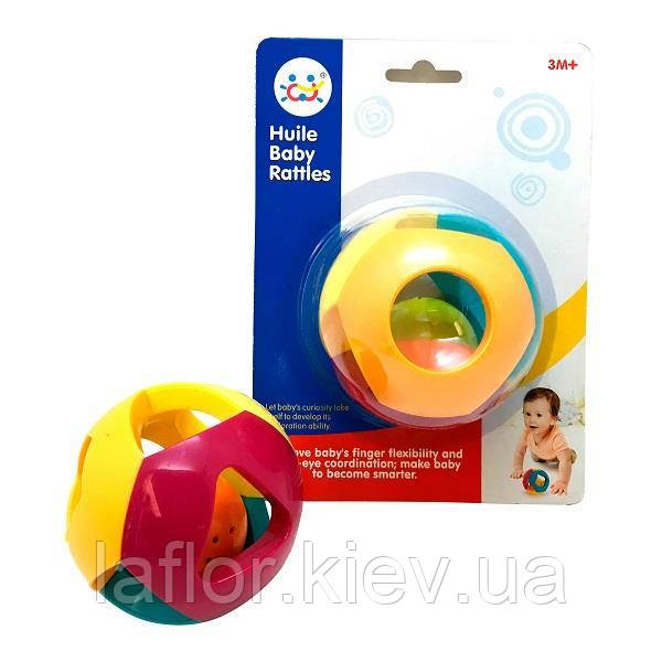 """Погремушка Huile Toys """"Двойной шарик"""" (939-5)"""