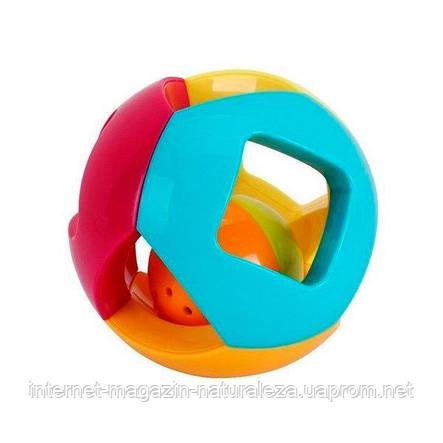 """Погремушка Huile Toys """"Двойной шарик"""" (939-5), фото 2"""