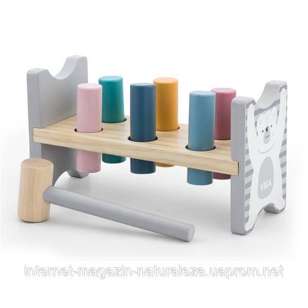 Игровой набор Viga Toys PolarB Забей гвоздик (44009)