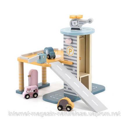 Игровой набор Viga Toys PolarB Паркинг двухэтажный (44029), фото 2