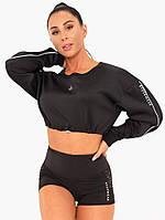 Спортивная кофта Stellar Cropped Sweater – Black