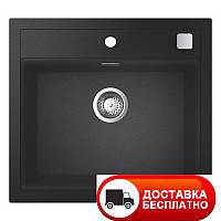 Черная гранитная мойка Grohe EX Sink 31651AP0 серия K700 56*51, фото 1
