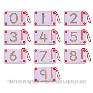 Набор для написания магнитных цифр Viga Toys 10 шт. (50339), фото 2