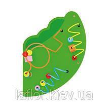 """Настенная игрушка Viga Toys бизиборд """"Крокодил"""" (50346), фото 3"""