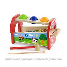 Игрушка Viga Toys 2-в-1 Ксилофон (50348)
