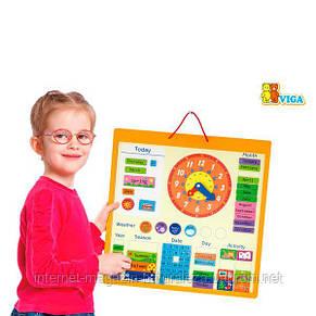 Календарь магнитный Viga Toys (50377), фото 2