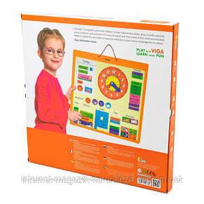 Календарь магнитный Viga Toys (50377), фото 3