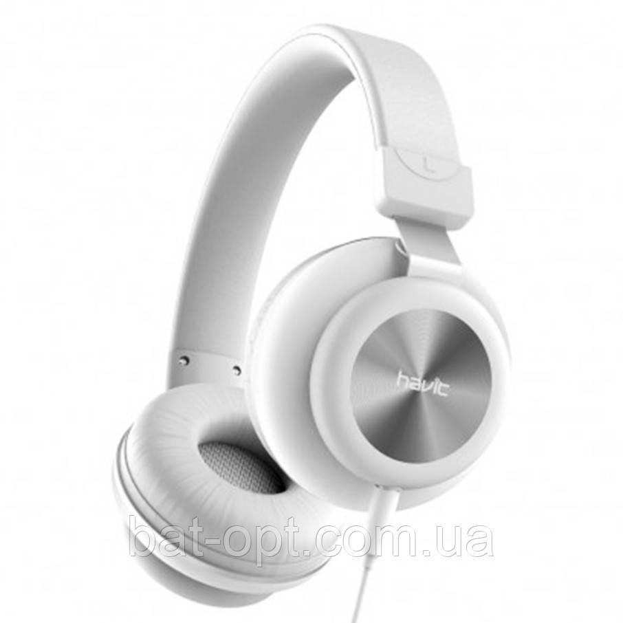 Наушники с микрофоном Havit HV-H2263D белые