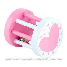 "Погремушка Viga Toys ""Цилиндр"", розовый (50396)"