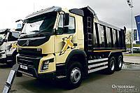 Услуги грузовых перевозок сыпучих строительных материалов самосвалами ткм