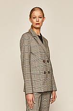 Пиджак костюмный женский в клетку, фото 3