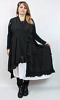 Женское платье-кардиган с длинным рукавом Darkwin  Турция рр 52-58